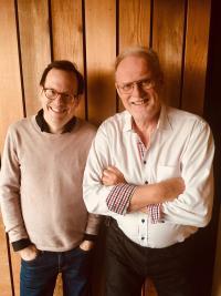 Thomas Deutgen och Kjell Malmborg