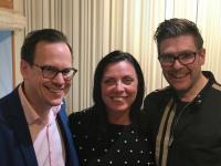 Thomas Deutgen, Susanne Bertlin och Thomas Lundin